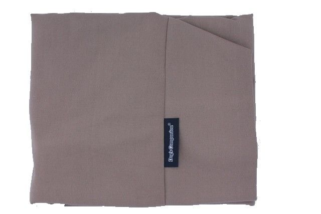 Hoes hondenbed taupe katoen small