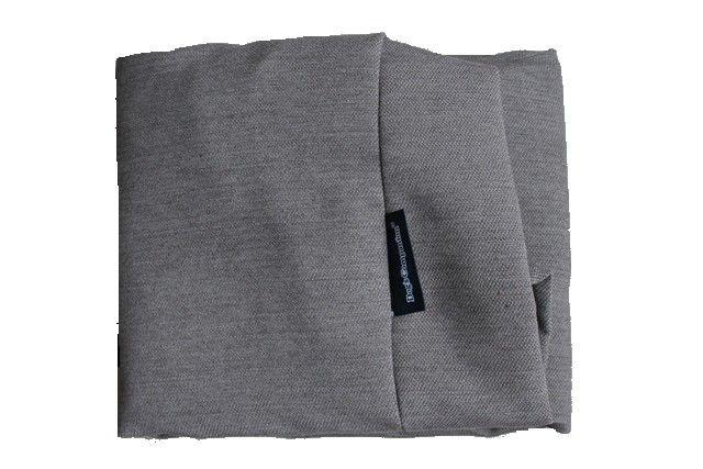 Hoes hondenbed grijs meubelstof Medium