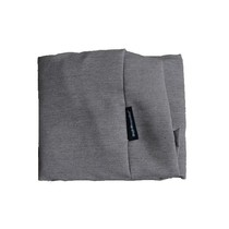 Hoes hondenbed taupe meubelstof large