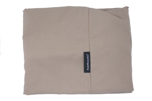 Dog's Companion® Hoes hondenbed beige katoen extra small