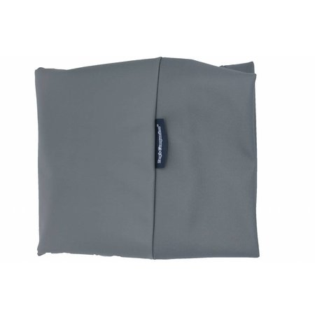 Dog's Companion® Hoes hondenbed large muisgrijs leather look