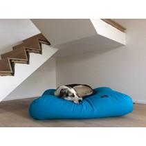 Hondenbed aqua blauw medium