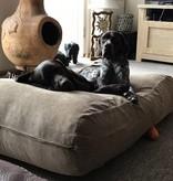 Dog's Companion® Hondenbed camel ribcord medium