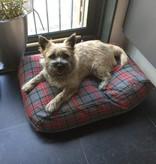 Dog's Companion® Hondenbed scottish grey extra small
