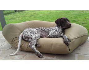 Polyester / katoenen hondenkussens