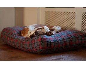 Geweven (ruit / streep) hondenkussens
