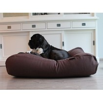 Hondenbed chocolade bruin (meubelstof) Extra Small