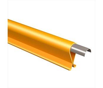 Stekbeschermer geel/zwart - Lengte=115 cm
