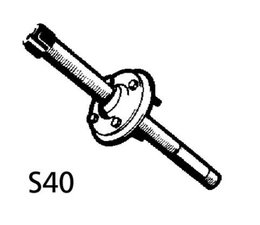 Spiegeldoorvoorset S40