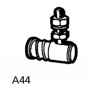A44 uitneembaar kogelgewricht voor kabelbesturing.