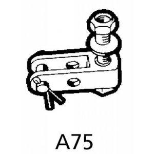 A75 vorkeind voor stuurkabels met oog.