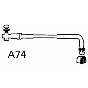 A74 - stuurarm voor Johnson en Evinrude motoren