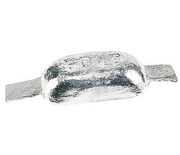 Magnesium anodes met lasstrip