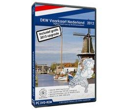 DKW vaarkaart Nederland