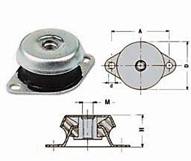Trillingsdempers motor