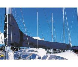 Giekhoes Blauw Dralon 3.25m.