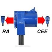 CEE Haakse Contrastekker + Stopcontact