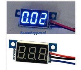 Digitale voltmeter mini