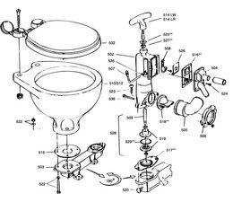 onderdelen rm 69 toilet bootschappen. Black Bedroom Furniture Sets. Home Design Ideas