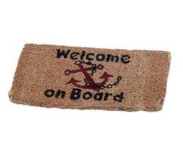 Vloermat Welcome on Board