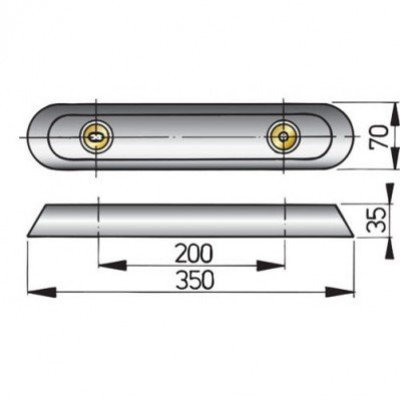 Aluminium Anode Type Vetus