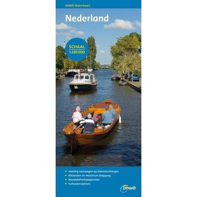 ANWB waterkaart Nederland