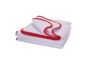 DUTCHPRO White Microfibre Polishing Towels 40x40