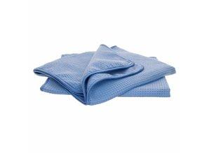 DUTCHPRO Blue Waffle Microfibre Drying Towel