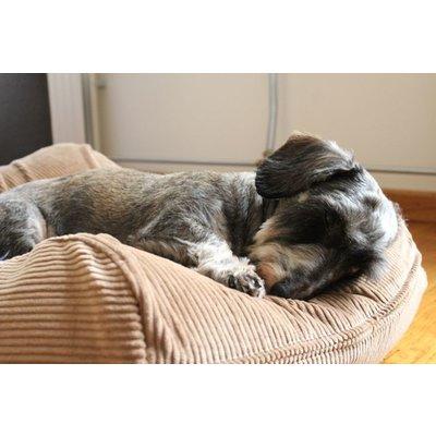 Dog's Companion® Hondenbed camel ribcord