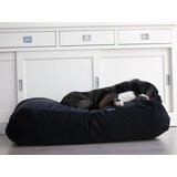 Zwarte hondenkussens