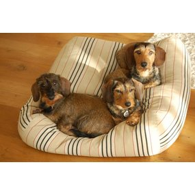 Dog's Companion® Hundebett Country Field (Gestreift) Small