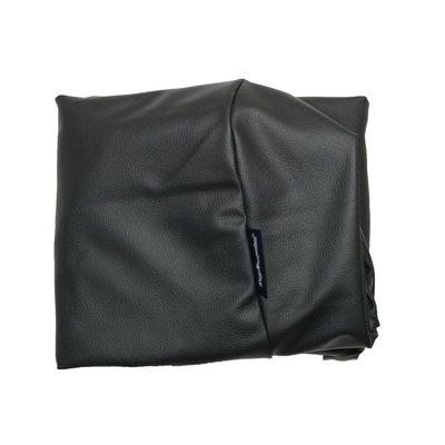 Dog's Companion® Bezug Schwarz Leather Look Small