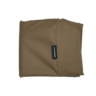 Dog's Companion® Bezug Taupe Leather Look Small