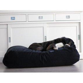 Dog's Companion® Hundebett Schwarz (Cord)