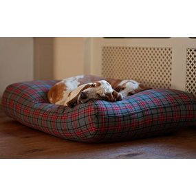 Dog's Companion® Hundebett Scottish Grau Small