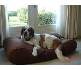 Dog's Companion® Large Dog bed Chocolate Brown
