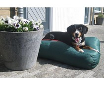 Dog's Companion® Outdoor Dog bed Green (coating)