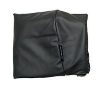 Dog's Companion® Extra cover black leather look