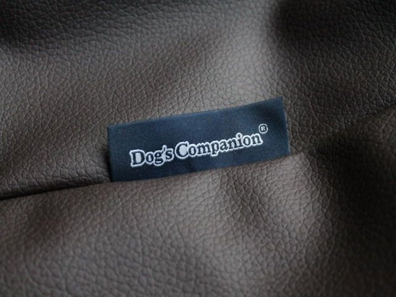 Dog's Companion® Bezug Schokolade Braun Leather Look