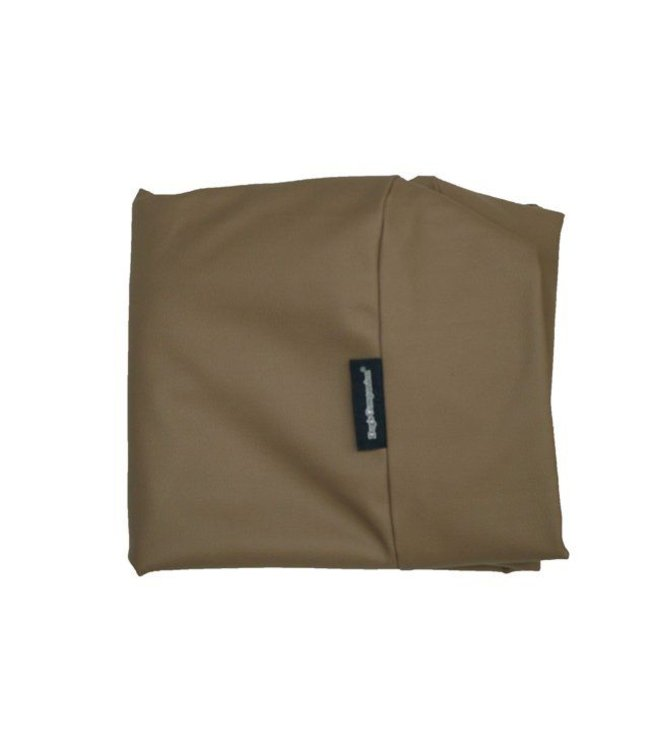 Dog's Companion Hoes hondenbed taupe leather look