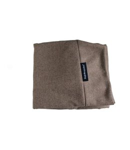 Dog's Companion® Extra cover Small Tweed light brown