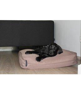 Dog's Companion® Banc coussin taupe (68 x 62 x 10 cm)