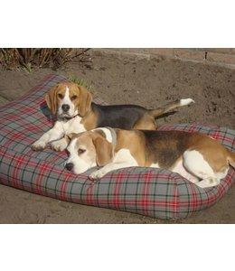 Dog's Companion® Hundebett Medium Scottish Grau