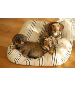 Dog's Companion® Dog bed Large Country Field (stripe)
