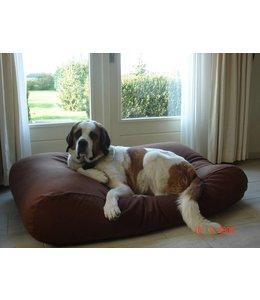 Dog's Companion® Hundebett Small Schokolade Braun