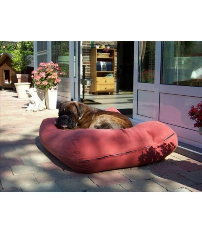 Dog's Companion Dog bed Brick-Red Extra Small