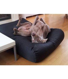 Dog's Companion® Hundebett Medium Schwarz (beschichtet)