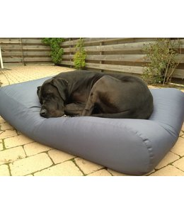 Dog's Companion® Hundebett Superlarge Stahlgrau (beschichtet)
