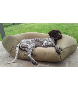 Dog's Companion Hondenbed khaki vuilafstotende coating Small