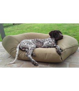Dog's Companion Hondenbed khaki vuilafstotende coating Medium